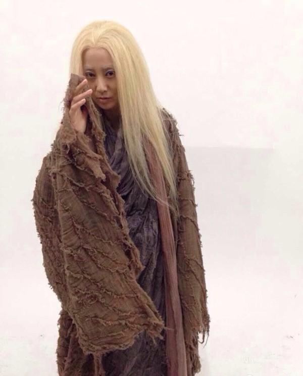 Nữ diễn viên Trương Tây vai Cầu Thiên Xích.