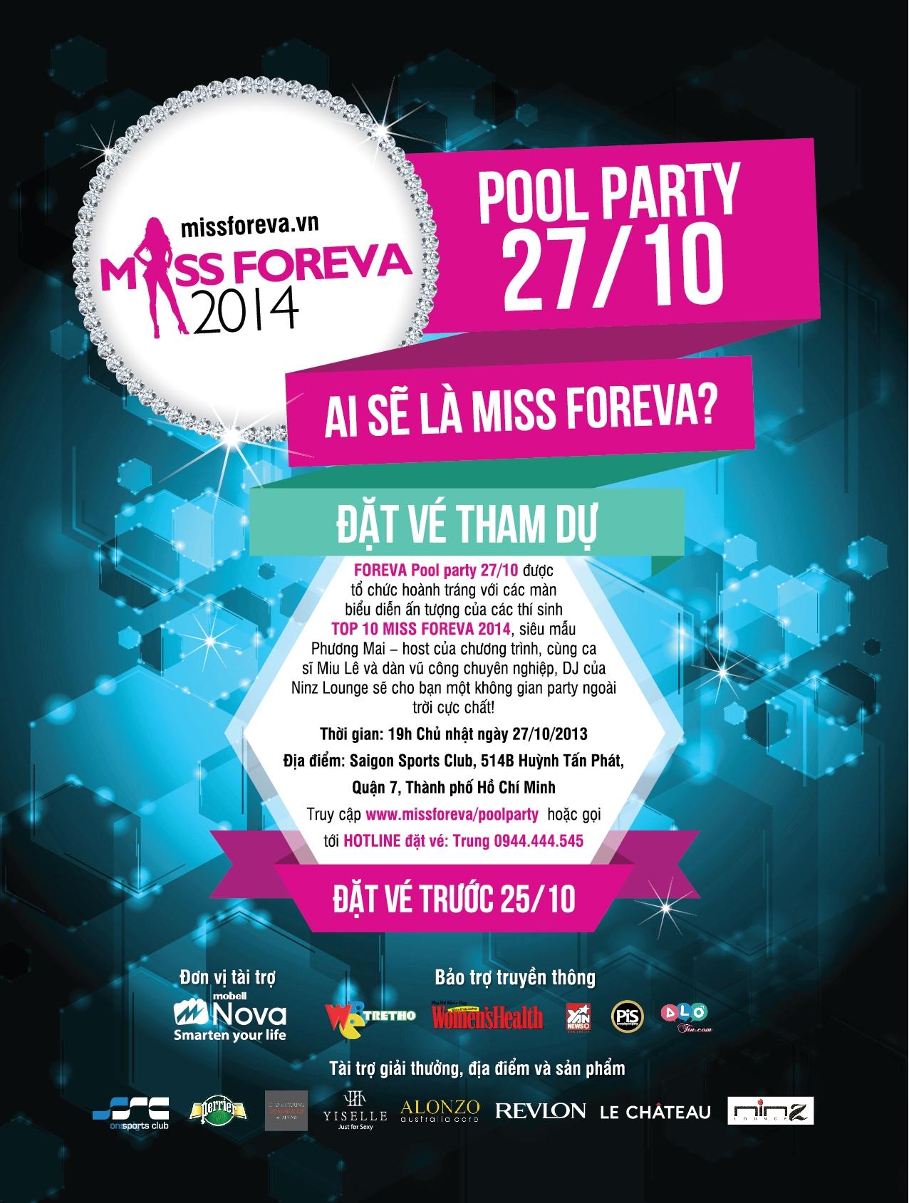 Hào hứng với FOREVA Pool Party