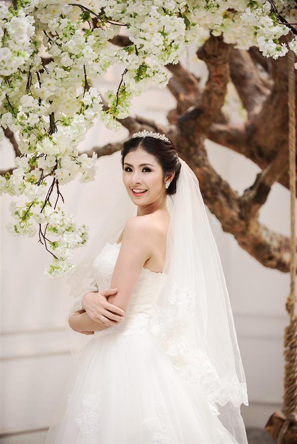 Có phải hoa hậu Ngọc Hân theo chồng bỏ cuộc chơi?