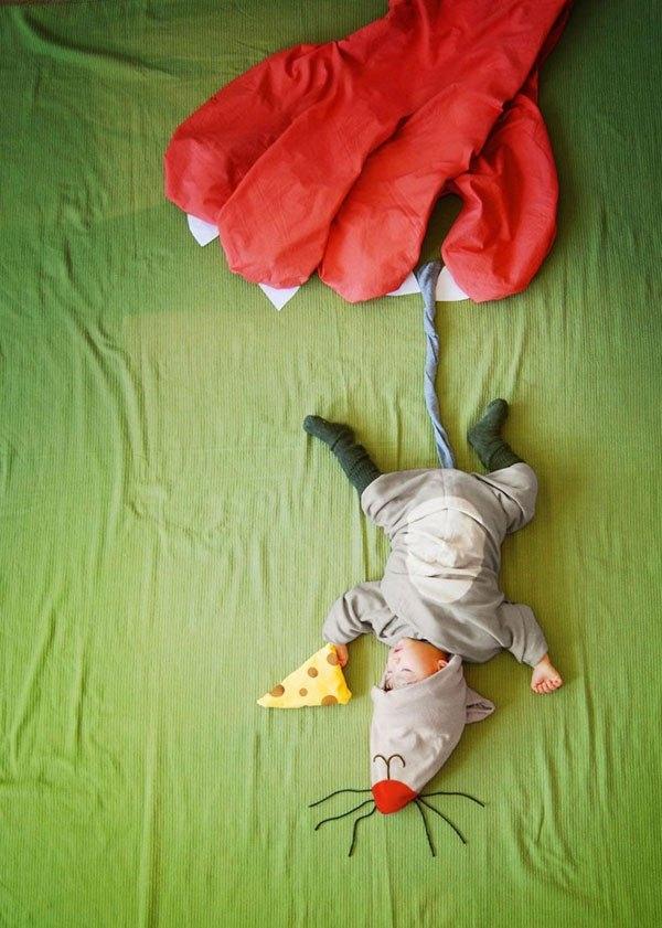 """Cực đáng yêu bộ ảnh """"Giấc ngủ trong thế giới cổ tích"""""""