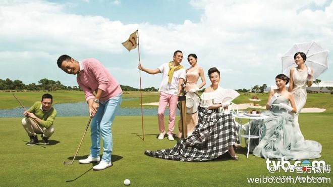 Tháng 11 (chủ đề golf): Trương Triệu Huy, Miêu Kiều Vỹ, Ngô Khải Hoa, Thiệu Mỹ Kỳ, Uông Minh Thuyên, Thái Thiếu Phân, Điền Thụy Ni.