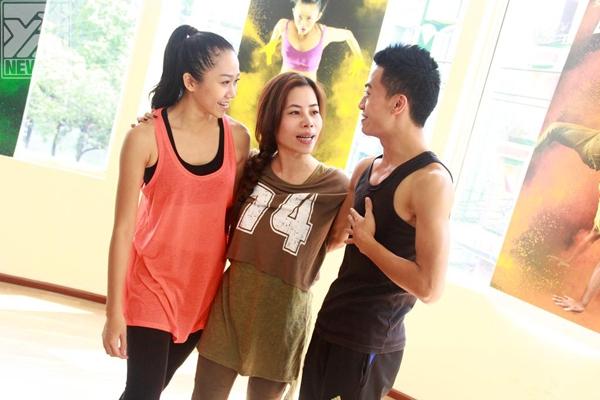 Áp lực ngày càng tăng với các thí sinh Thử Thách Cùng Bước Nhảy, họ phải cố gắng để tranh chiếc vé vào Top 10. - Tin sao Viet - Tin tuc sao Viet - Scandal sao Viet - Tin tuc cua Sao - Tin cua Sao