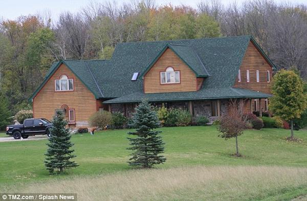 Ngôi nhà trị giá 850 ngàn USD mà Justin vừa tậu cho gia đình.
