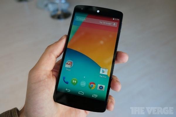 Google chính thức ra mắt smartphone đỉnh cao giá rẻ Nexus 5