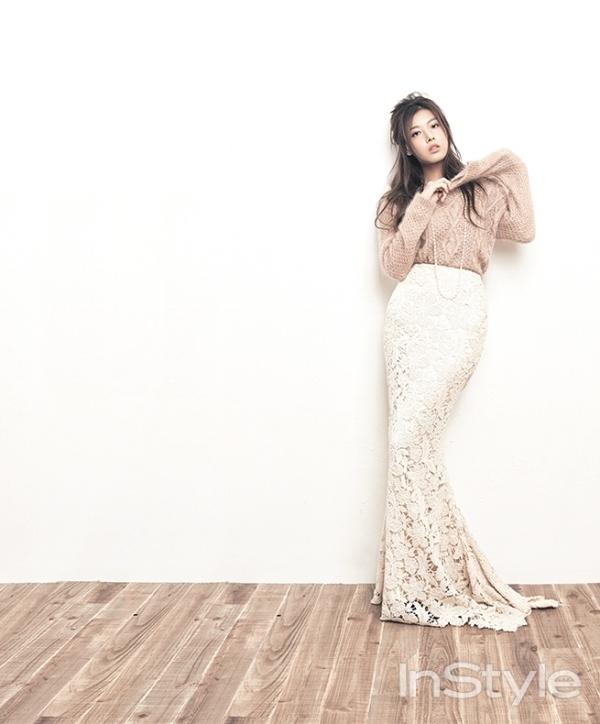 Yubin (Wonder Girls) đẹp tinh khôi ngỡ ngàng trên tạp chí InStyle