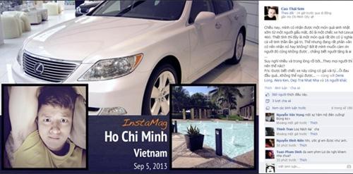 Cao Thái Sơn: Đau đầu quá vì được tặng xe bạc tỷ