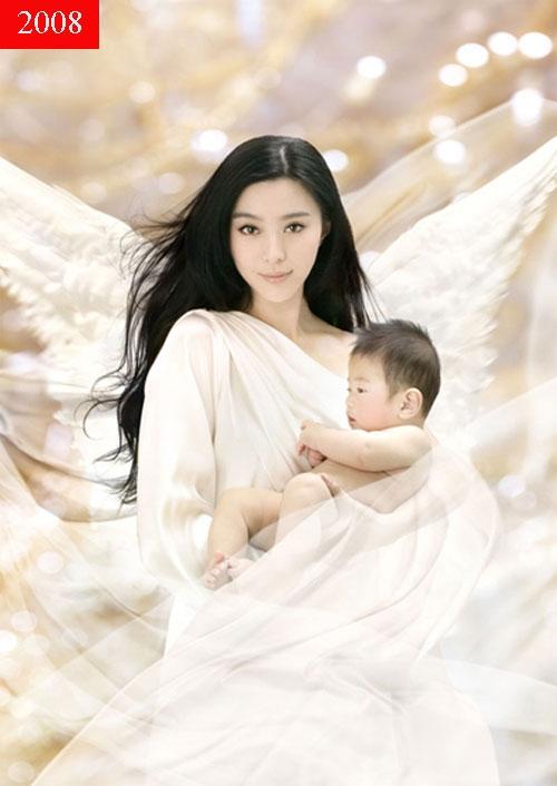 Năm 2008, Phạm Băng Băng đã được mời làm người mẫu quảng bá cho Thế vận hội Bắc Kinh. Vẻ đẹp của Phạm Băng Băng ở thời điểm này vô cùng rực rỡ. Cô vừa nhẹ nhàng, vừa thanh thoát, vừa sắc nét.