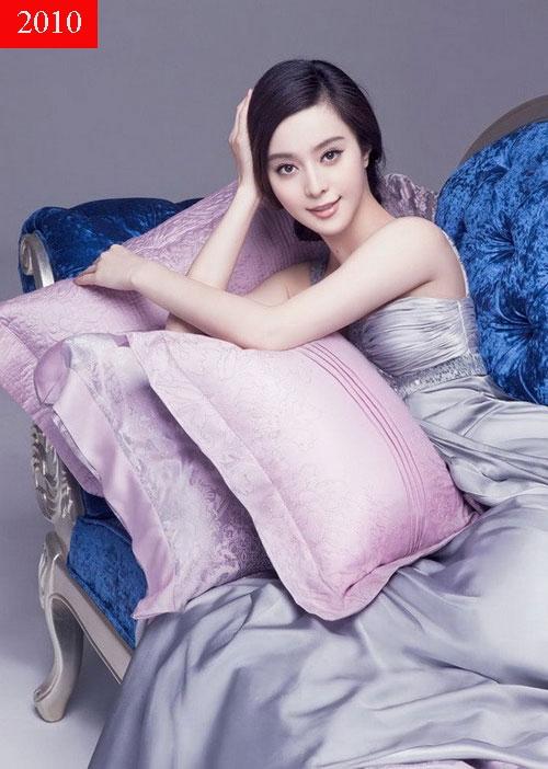 Cùng với sự đi lên về nhan sắc, Phạm Băng Băng cũng có mức thù lao khủng. Cô được bình chọn là ngôi sao dưới 30 tuổi có thu nhập cao nhất năm 2010.