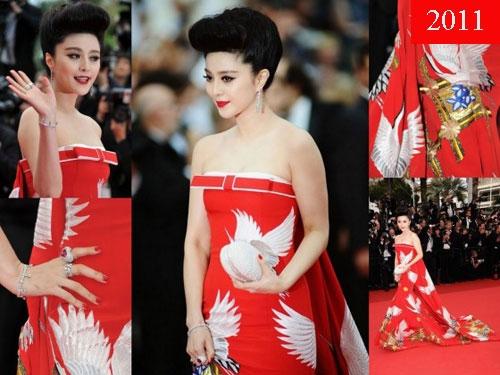 Năm 2011, Phạm Băng Băng gây chú ý với giới thời trang toàn thế giới khi xuất hiện ấn tượng tại Liên hoan phim Cannes. Từ đó, cô luôn là khách mời châu Á được chú ý nhất tại sự kiện này.