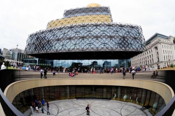 Cận cảnh thư viện khổng lồ nhất châu Âu