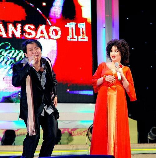 Có lẽ Ốc Thanh Vân là một trong những nghệ sĩ chăm chỉ nhất trong showbiz.