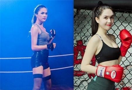 Hương Giang và Ngọc Trinh.