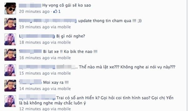 Bạn bè rất lo lắng cho sức khỏe của Hoàng Yến - Tin sao Viet - Tin tuc sao Viet - Scandal sao Viet - Tin tuc cua Sao - Tin cua Sao