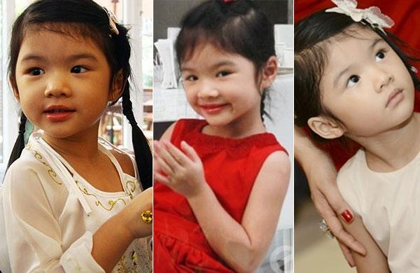 Bé Bảo Tiên - con gái của Trương Ngọc Ánh và Trần Bảo Sơn