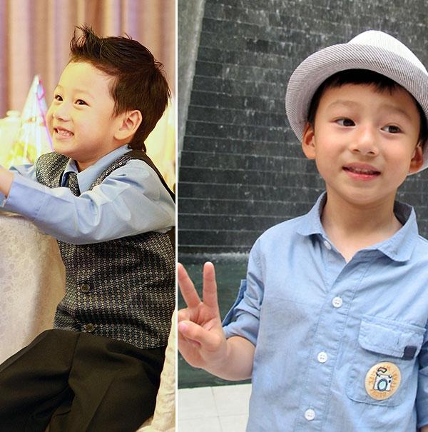 Bé Bảo Nam - con trai Jennifer Phạm