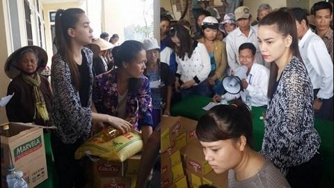 Hà Hồ ăn vận giản dị trong chuyến từ thiện mới nhất - Tin sao Viet - Tin tuc sao Viet - Scandal sao Viet - Tin tuc cua Sao - Tin cua Sao