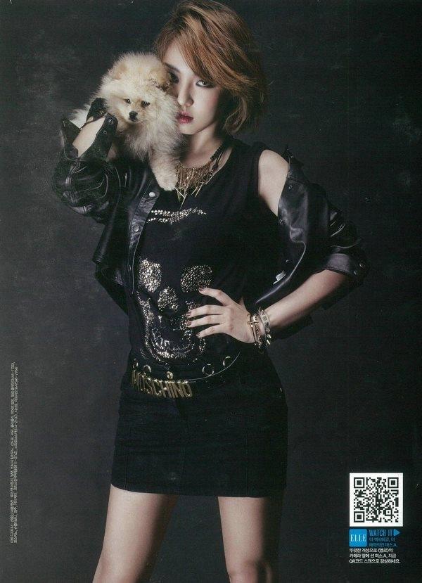 Miss A quyến rũ với phong cách thời trang cực chất trên Elle