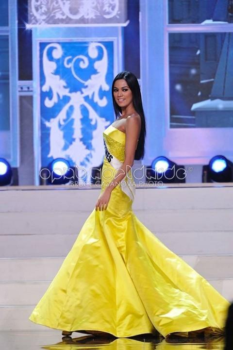 Hoa hậu Philippines gây thất vọng với màn trình diễn tẻ nhạt