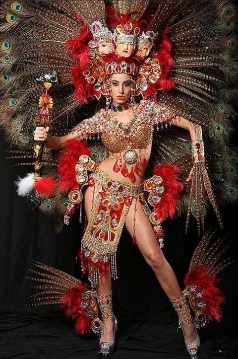 Bộ trang phục Dân tộc của hoa hậu Nicaragua