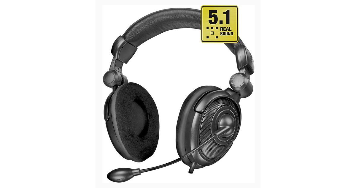 Tai nghe Medusa âm thanh vòm 5.1 của Speedlink trình làng