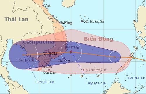Người Sài Gòn di dời tránh bão số 13