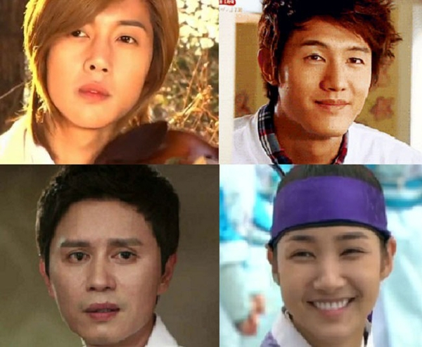 Ji Hoo (Boys Over Flowers), Choi Gang Hyuk (Flower Boy Ramen Shop), Song Man Bo (Rooftop Prince), Choi Yoon (A Gentleman's Dignity), Kim Yoon Hee (Sungkyunkwan Scandal).