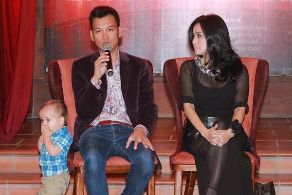 Bobo được bố cho đến dự họp báo của bác Thanh Lam