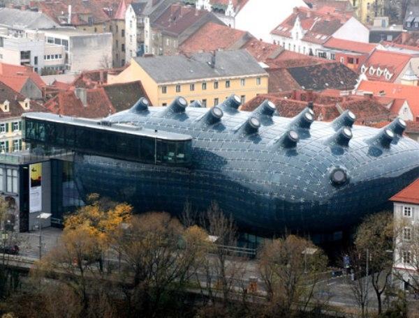 Những tòa nhà có kiến trúc kỳ quặc
