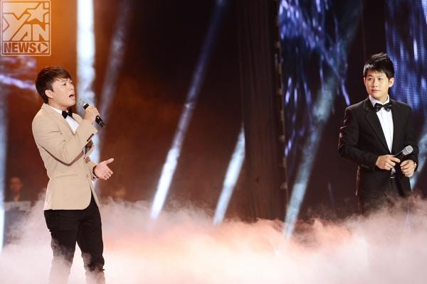 """Trọng Khương và Đỗ Xuân Sơn đến với The Voice 2013 với """"Unbreak my heart"""""""