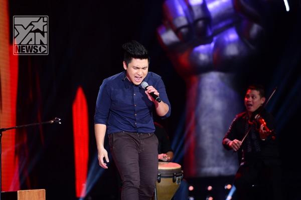 Thành Nam chọn Vẽ của nhạc sĩ trẻ Toàn Thắng, khoe chất giọng trầm ấm cách hát như một cách nói tâm tình trong phong cách acoustic, một lần nữa Thành Nam tạo được hiệu ứng sân khấu như mong đợi.
