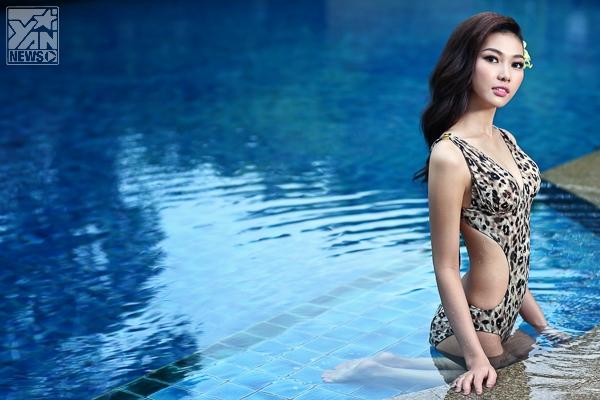 Bích Khanh nóng bỏng cùng bikini trước thềm Miss Grand