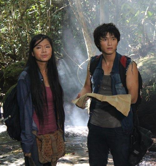 """Vai diễn ấn tượng của Huỳnh Anh trong """"Đảo ngọc huyền bí""""."""