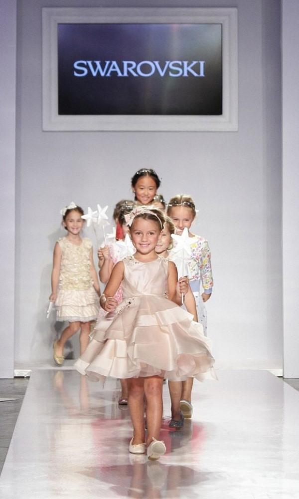Tuần lễ thời trang trẻ em đáng yêu tại New York