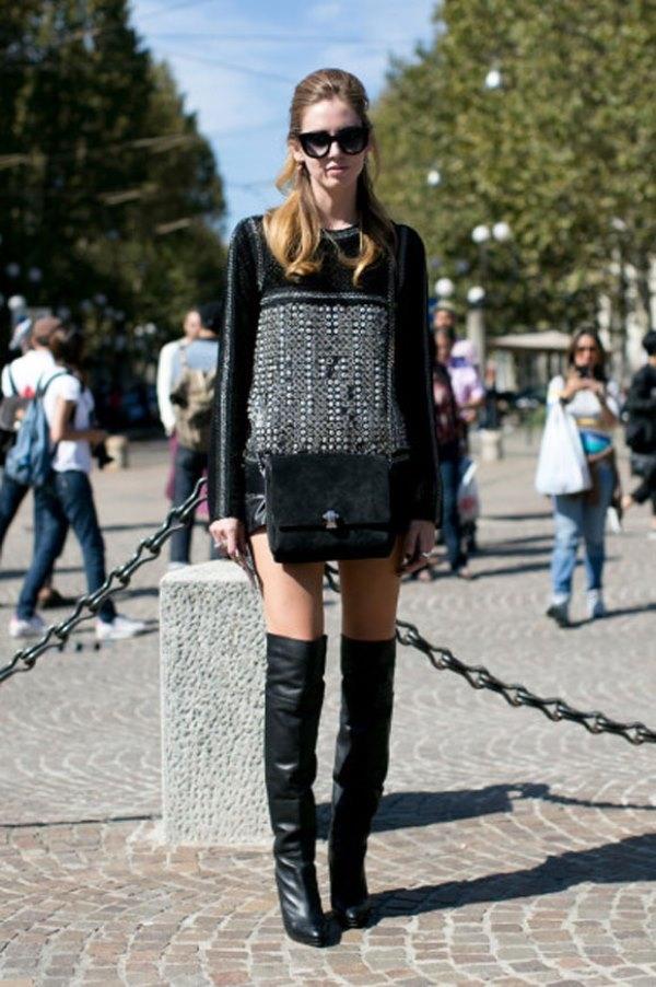 Boots trên gối - thử thách cho cô nàng yêu thời trang