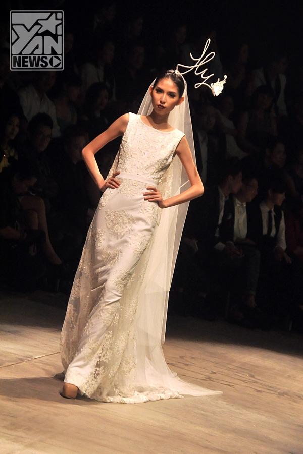 Thùy Dương lộng lẫy trong váy cưới