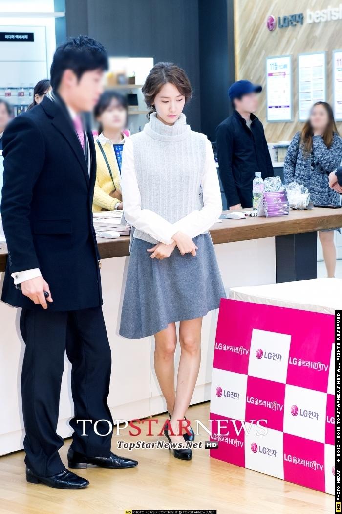 Yoonaxuất hiện trong sự kiện với tạo hình của phim mới.