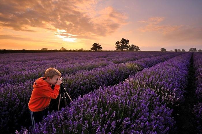Ngỡ ngàng những bức ảnh đẹp không tưởng từ nhiếp ảnh gia 6 tuổi