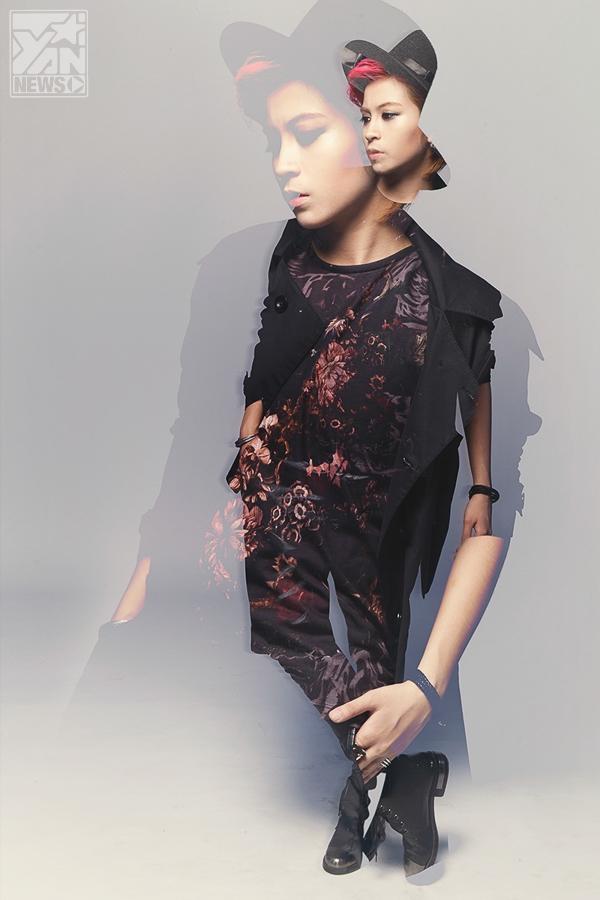 Gil Lê cực cá tính với thời trang thu đông ấn tượng