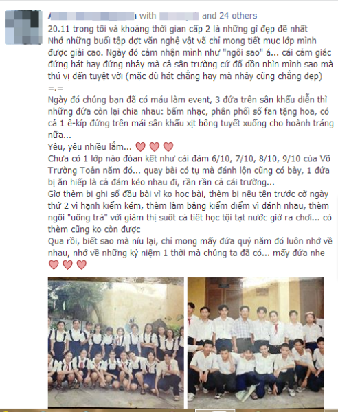 Cư dân mạng nô nức cùng ngày nhà giáo Việt Nam