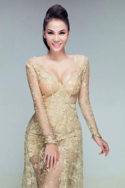 Diện lớp váy ren trong suốt, Thu Minh khoe vóc dáng gợi cảm vàvòng 1 vô cùng nảy nở - Tin sao Viet - Tin tuc sao Viet - Scandal sao Viet - Tin tuc cua Sao - Tin cua Sao