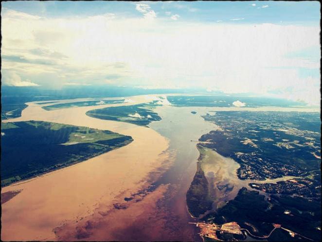 """Những dòng sông """"hòa nhập"""" mà không """"hòa tan"""""""