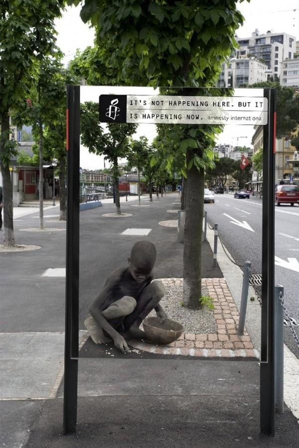 Nhói lòng xem poster kêu gọi bảo vệ quyền con người