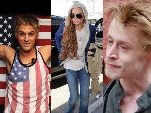 Aaron, Lindsay và Macaulay.
