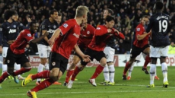Cardiff2-2M.U: Quỷ đỏ rơi điểm phút cuối