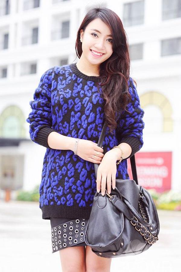 Gợi ý mix đồ đẹp và ấm áp với áo len oversized