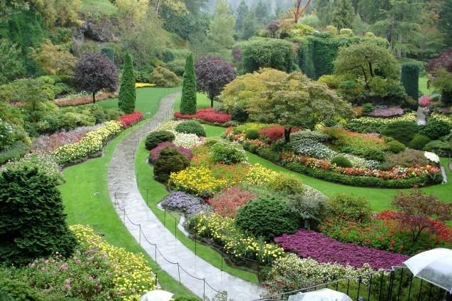 Lạc vào xứ thần tiên tại 10 khu vườn đẹp nhất quả đất