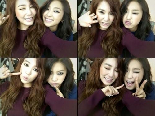 Tiffany (SNSD) và Bora (SISTAR)