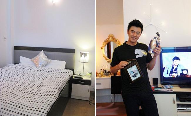 Phòng ngủ của Phan Anh và Tuấn Tú đều trang trí rất đơn giản. - Tin sao Viet - Tin tuc sao Viet - Scandal sao Viet - Tin tuc cua Sao - Tin cua Sao