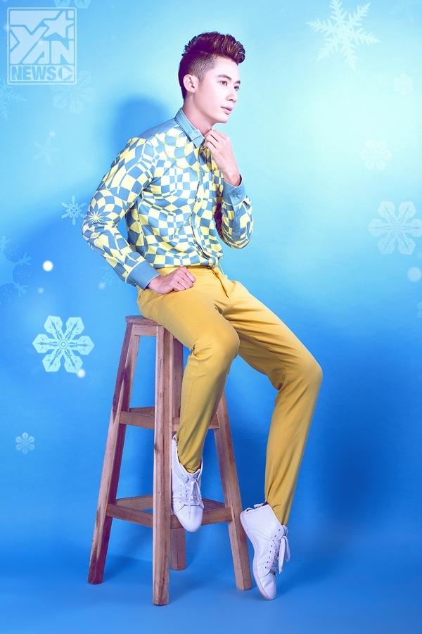 Cùng Rainbow Boys đón Noel với trang phục sắc màu