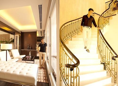 Penthouse của Đàm Vĩnh Hưng thiết kế thông thoáng, nhiều cây xanh và chan hòa ánh sáng